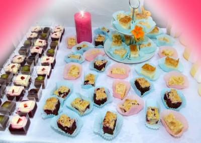 Dessert und Kuchen